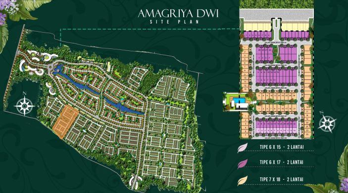 Cluster Amagriya Dwi Podomoro Park Buah Batu Bandung