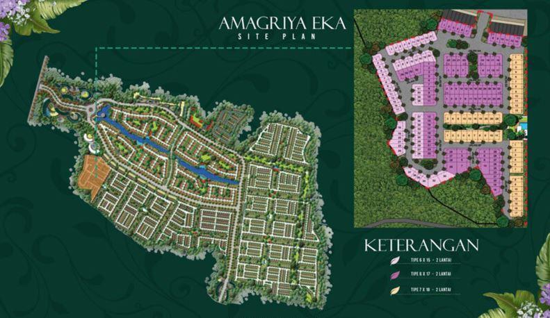 Cluster Amagriya Eka Podomoro Park Buah Batu Bandung