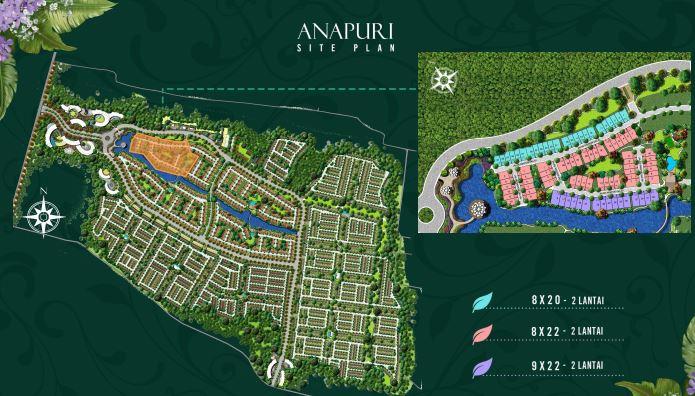 cluster Anapuri Podomoro Park Buah Batu Bandung