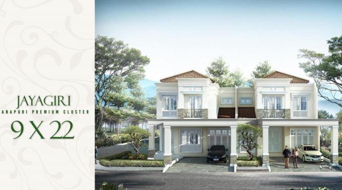 Rumah Tipe Darmaraja Cluster Anapuri Podomoro Park Buah Batu Bandung