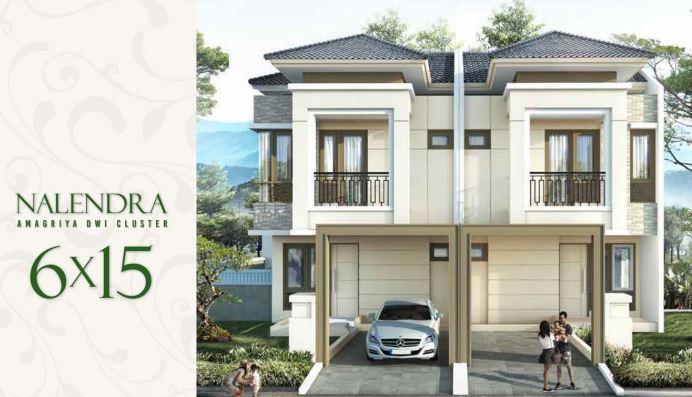 Rumah Tipe Nalendra Cluster Amagriya Podomoro Park Buah Batu Bandung