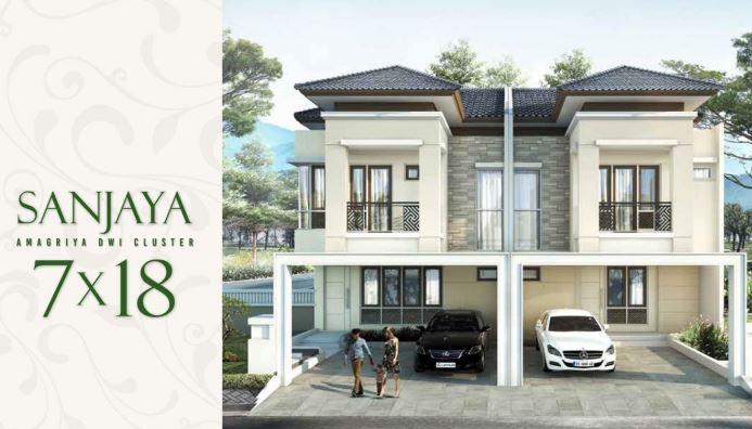 Rumah Tipe Sanjaya Cluster Amagriya Podomoro Park Buah Batu Bandung