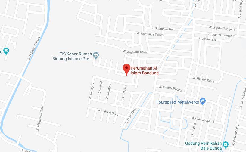 alamat lokasi perumahan al islam bandung