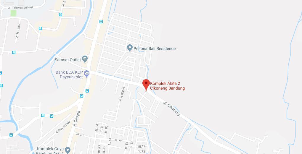 Alamat Perumahan Akita Bojongsoang Bandung