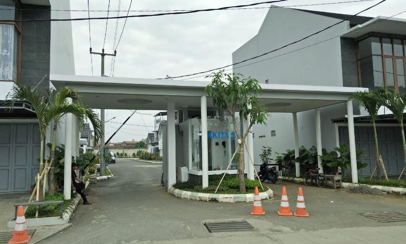 Gerbang Perumahan Akita Bojongsoang Bandung