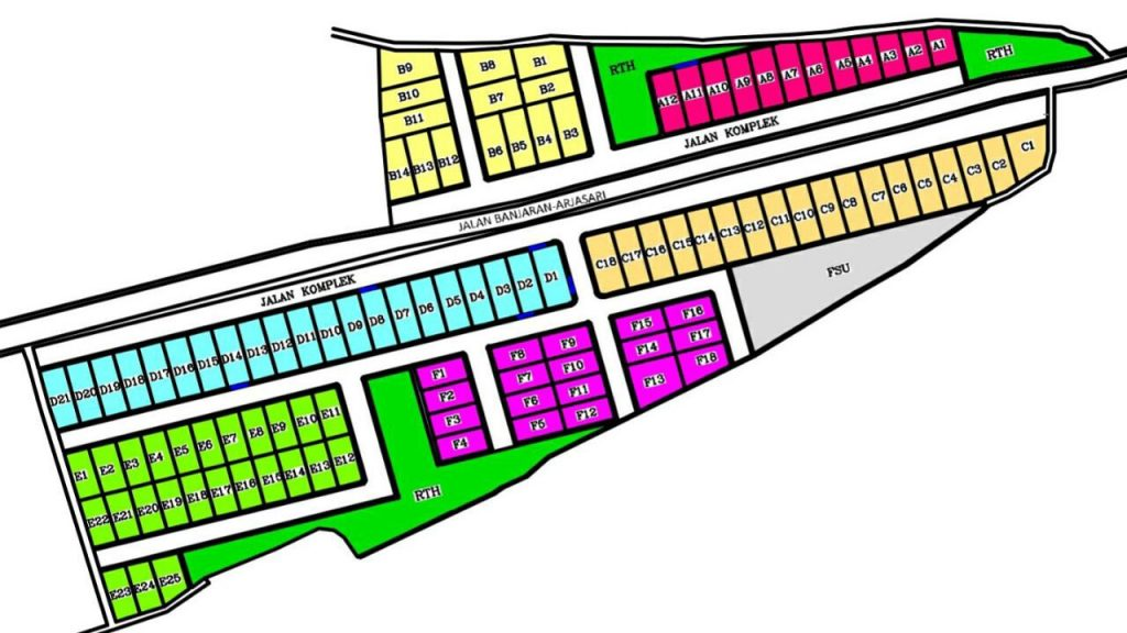 site-plan-alam-arjasari-batukarut-residence-bandung