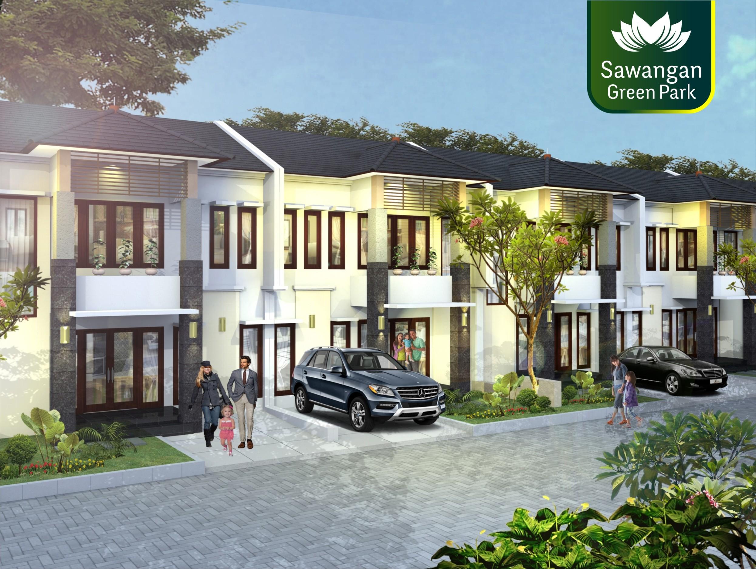 rumah-sawangan-green-park-depok-type-80